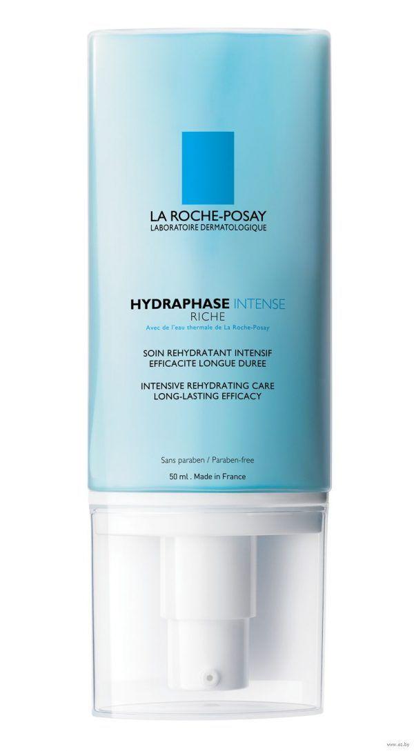 La Roche-Posay Средство интенсивное увлажняющее для нормальной и сухой чувствительной кожи Hydraphase Intense Riche 50мл