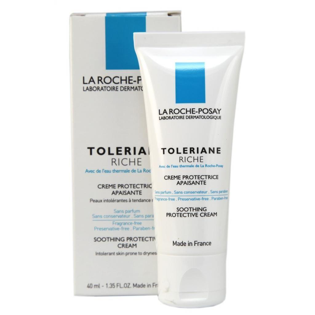 """Крем увлажняющий для норм и комб чувствительной кожи """"Toleriane Sensitive"""" марки """"La Roche-Posay"""" 40 мл"""